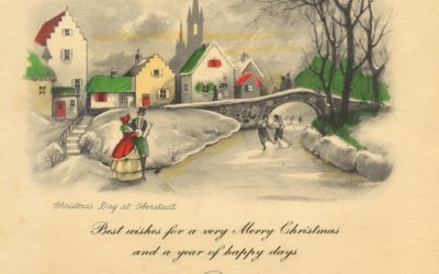 Advent Calendar of Christmas Memories: Day 2 – Christmas Cards